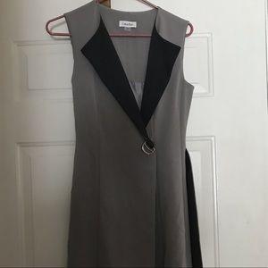 Calvin Klein Wrap Style Dress
